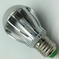 Wholesale x20pcs DHL W lm Thick Aluminum heat disspation LED bulbs smd5730 led bulbs E27 base ac85 v input
