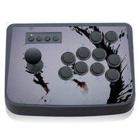 arcade stick controller - Honcam Fighting Stick Super Street Fighter Joystick Joypad For PS2 PS3 PC Game Controller USB Universal Arcade Handle Gamepads