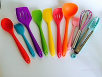 Wholesale 10pcs Colorful Baking Pastry Tools Cooking Tools Hygienic Utensils Kitchen