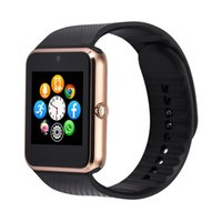 Wholesale Smart Watch GT08 Clock Sync Notifier Sim Card Bluetooth For Apple Android Smartwatch Phone For IOS android OS Smartwatch Phone