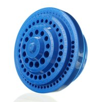 Wholesale Top Quality Multifunctional Blue Plastic Round Shape Drill Bit Storage Box For Drilling Tools New Arrival