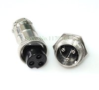 aviation desktop - Aviation Plug Male Female Panel Metal Wire Connector Pins GX16 P