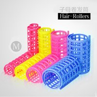 Wholesale 2016 New Fashion Plastic Hair Curler Roller Large Grip Cling Hair Styling Curler Hair Styling Tool