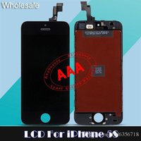 For iPhone 5 5s 5c iphone glass - Tianma LCD Replacement Touch Screen Digitizer for iPhone S G C LCD Glass Panel Modules repair parts Factory Price For S C G