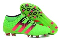 ankle pack - Charlin s New Cheap ACE Purecontrol Soccer Cleats Men FG Ace Etch Pack Soccer Shoes Outdoor High Ankle Football Boots Green