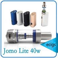 Wholesale 100 Original Jomo Lite w Jomo watt E cig Box Mod Lite w vapor mod kit ml Vaporizer VS Kanger Kbox kangertech