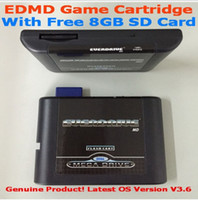 Wholesale SEGA GENESIS MegaDrive MD EDMD Game Cartridge USA Japanese and European game card shell