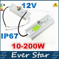 Wholesale IP67 Waterproof LED Driver V W W W W Outdoor Use Transformer V V To V Power Supply For Underwater Light