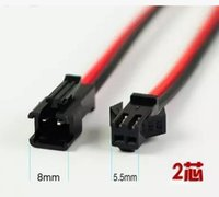 Wholesale 2 p terminal air to the connection peg SM electronic LED power supply plug cable box to a length of mm