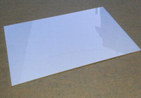 Wholesale 1pcs mm A4 White Acrylic Sheet Plexiglass Plastic Plate