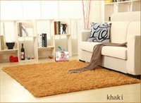 Wholesale Qi Long fluffy living room bedroom carpet Nice easy to clean affordable can be customized welcome and retail