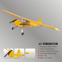 Wholesale Electric Balsa RC Plane J3 Kit