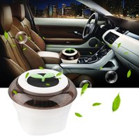 Wholesale Super hot New Mini LED USB Portable Humidifier Car Office Negative diffusion Air Purifier V