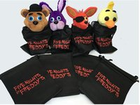 Wholesale 2016 New FNAF bags five nights at freddy s toys bag Storage bag five nights at freddy bag