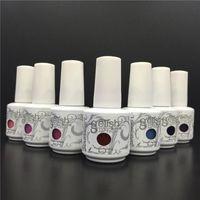 Wholesale ml New Arrival Harmony Gelish Soak Off UV Nail Gel Polish Total Fashion Colors Available gelish polish