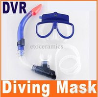 Wholesale 2pcs M Underwater Diving Mask DVR Camera With Snorkel GB