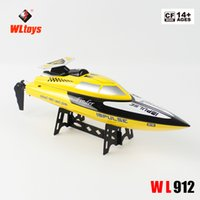 Wholesale 2016 New WL Toys WL Remote Control Simulation Model Antitilt High Speed Ship RC Ship Wirelessed RC Boat G Drop AY