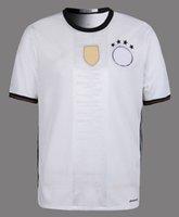 Wholesale Set Cheap Cups - 2016 Euro Cup Deutschland Fussball Bund Soccer Jerseys home shirt Thai Quality GOTZE MULLER Soccer Shirts Cheap custom shirt and set