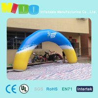 Wholesale activity celebration inflatable arch site road lead props beach surf arch party landscape layout props inflatable arch factory outlets