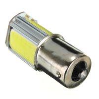 Wholesale Hot Sale White G18 Ba15s COB LED Car Auto Light Source Turn Signal Rear Bulb Lamp DC12V