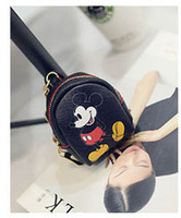 Wholesale 2016 New Cartoon Car Key Wallet Coin Purse PU Leather Holder Purses Wallets Designer Mouse Bags Items Gear Stuff Accessories Key Wallets