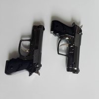 Wholesale Portable Luxury Mini Gun Shaped Butane Flame Gas Cigarette Torch Lighter VS USB Oil windproof Lighter