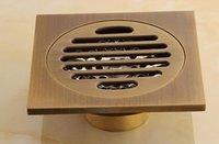 Wholesale bathroom brass floor drains bathroom accessories