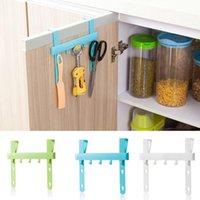 bamboo door - Super Deal Kitchen Door Rack Hooks Hanging Storage Hanging Holders Accessories Tool