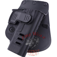 Cheap Hunting Right Hand Belt Loop Paddle CH Rapid Release System Belt Holster Fits Tactical Gun Glock 17 19 22, 23, 31, 32, 34, 35