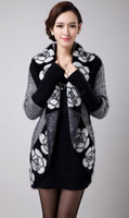 Wholesale HOT Winter Long Sweater Women Autumn Winter Batwing Sleeve Printing Shawl Casual Sweater Cardigan b7 CB031313