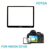 Wholesale Fotga Camera LCD Screen Protector Optical Tempered Glass Panel Film Protective Guard Waterproof Cover For NIKON D3100