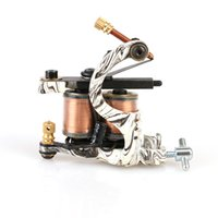 beautiful tattoos - New Style Beautiful Handmade Mini Stripe Tattoo Machine Shader Tattoo Gun Coils Tattoo Supply TM8375