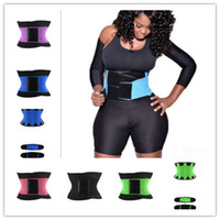 Wholesale 2016 Hot women body slimming belts fashion sweat belly fat Body Sculpting Slimming sports burning more fat Size M XL
