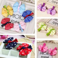 bb heart - Ribbon Heart shaped Pattern BB Clips Mix Color Bowknot Handmade Children Girl Hairpins Hairclip For Kid Baby Hair Accessory