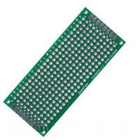 Wholesale High quality XDual Sides Prototype Printed Circuit Board PCB Tinned Breadboard x70mm FR4 Holes FR4 Glass Fiber x70mm