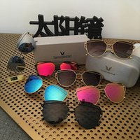 fashion square - 2016 Newest Sunglasses UV400 resin material Polarized glasses Metal Square Sun glasses Men Women Sunglasses colors
