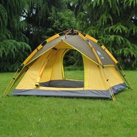 Wholesale Automatic Summer Hiking Tents Outdoors Camping Shelters for People Large Anti UV Double Layers Family Camping Tents
