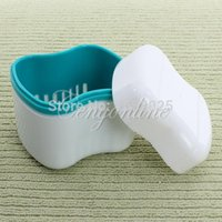 Wholesale Autoclavable Dental Denture Box Container Orthodontic Retainer Case Mouth Tray Holder For Mouthgard Bitegard Guard Dentures Case
