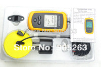 Wholesale 1pcs Portable Sonar LCD Fish Finder Alarm M AP ice fish finder sonar fish help