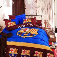 barcelona sheets - 2016 cotton bed sheet Barcelona duvet cover set piece quilted bedding set twin queen comforter sets