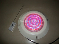 ac water leak - pc X led RGB color underwater lamp ABS led pool light w with remote controller no water leak in