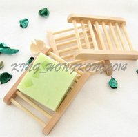 Wholesale 200pcs Fashional Bathroom Soap Tray Handmade Soap Dish Wooden Dish Wooden Soap Dish As Holder