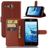 acer cell phones - Cell Phone Case for Acer Z530 Z630 Liquid E600 Z330 M330 Z520 PU Leather Protective Cover