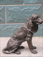 beagle art - 15 quot Large ART Bronze Statue Greece Beagle Harrier DOG Animal