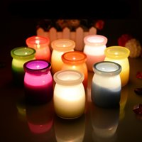 Wholesale New Arrival mosquitos Insect Repellents scented candles decorative glass candle jars Citronella Tealight Candles home decor