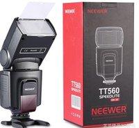 Wholesale Neewer TT560 Camera Flash Speedlite for Canon D D D D D D Nikon Sony Panasonic Olympus Fujifilm DSLR Cameras