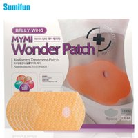 belly fat cream - 20Pcs MYMI Wonder Slimming Patch Belly Abdomen Weight Loss Fat Burning Cream Navel Stick Body Shapping Massage C323