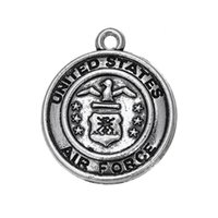 air force emblems - 10pcs air force national emblem USA charm