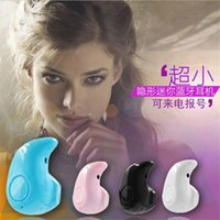 Wholesale Mini Bluetooth Earphone Stereo Light Wireless Invisible Headphones S530 Super Headset Music answer call For Samsung Iphone LG US03