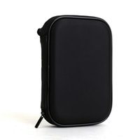 Wholesale High Quality universal Black Portable Zipper External HDD Bag Case Pouch For Protection For GPS Hard Disk Drive Helper